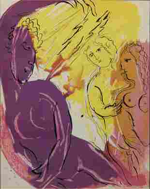 Marc Chagall - Angel of Paradise