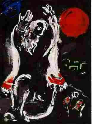 Marc Chagall - Isaiah