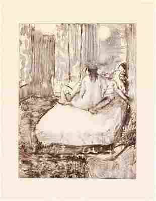 Edgar Degas - Sur Le Lit