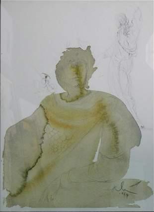 Salvador Dali - Licet Tributum Dare Caesari