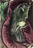 Marc Chagall - Job in Despair