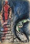 Marc Chagall - Ahasuerus Sends Vashti Away