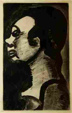 Georges Rouault - Femme Hideuse
