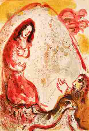 Marc Chagall - Rachel Hides her Father's Household Gods