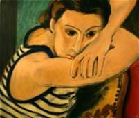 Henri Matisse (After) - Blue Eyes