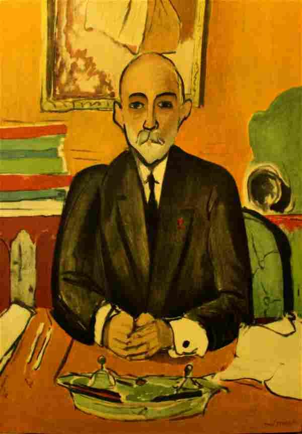 Henri Matisse (After) - Auguste Pellerin