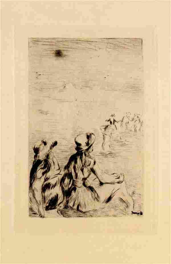 Pierre-Auguste Renoir - Sur la Plage a Berneval