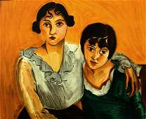 Henri Matisse (After) - The Two Sisters