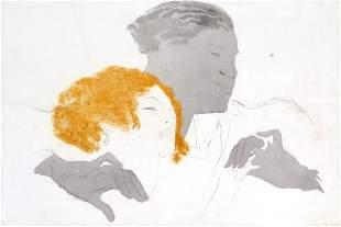 Marcel Vertes - Happy Couple