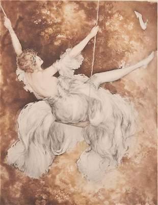 Louis Icart - The Swing