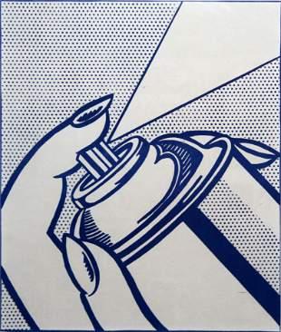 Roy Lichtenstein - Spray Can