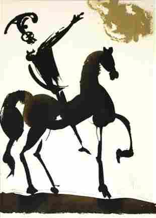 Salvador Dali - Joshua Brave In The War