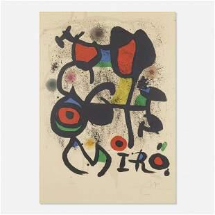 Joan Miro - Bronzes Exhibition Hayward Gallery London