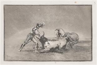 Francisco Goya (After)- Plate 9