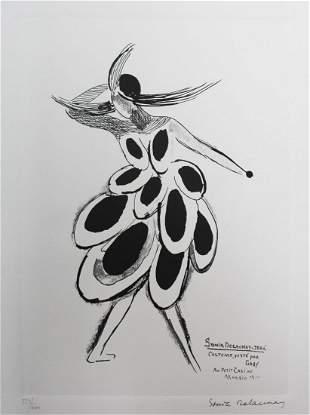 Sonia Delaunay - Music-hall Gaby