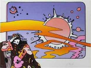 Peter Max - Cosmic Lady