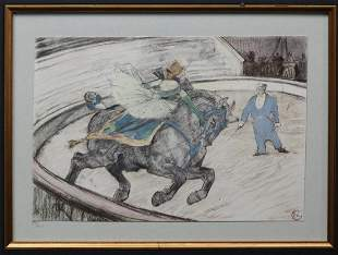 Henri de Toulouse-Lautrec - Work in the ring
