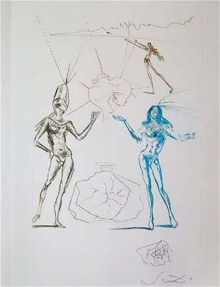 Salvador Dali - The Lovers condemned