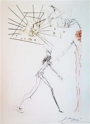 Salvador Dali - The Thre bad barons