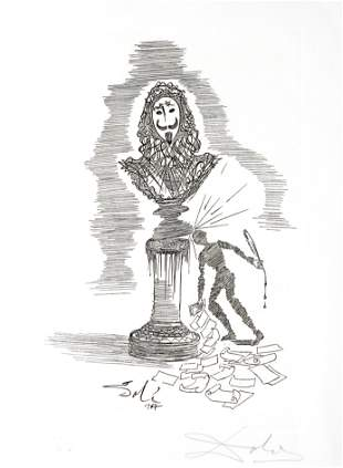 Salvador Dali - The Writer's Whim