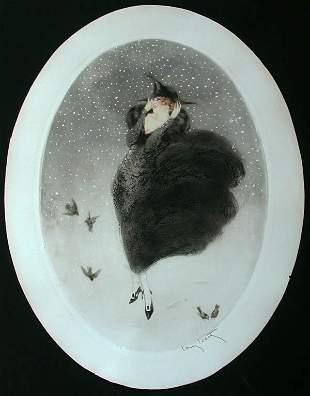 Louis Icart - Snow