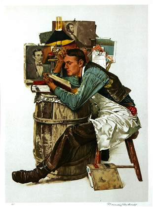 Norman Rockwell - Law Student