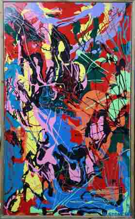 M. Stone - Slash II (Tribute to Jackson Pollock)