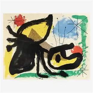 Joan Miro - Plate II
