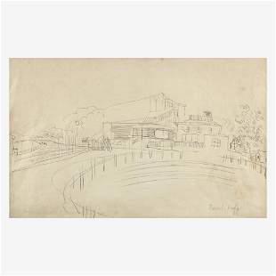 Raoul Dufy - Champs de Courses en Angleterre