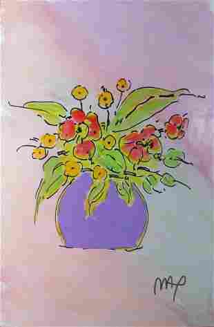 Peter Max - Flower Pot