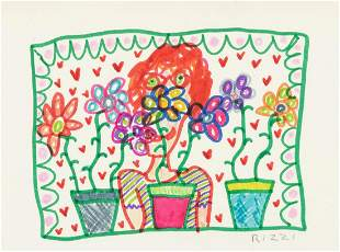 James Rizzi - Flower Girl