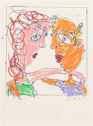 James Rizzi - Lady Friends