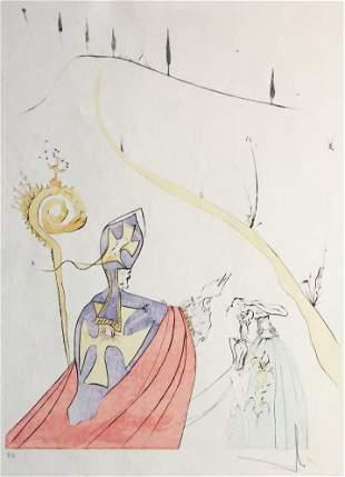 Salvador Dali - The Sacred Love of Gala