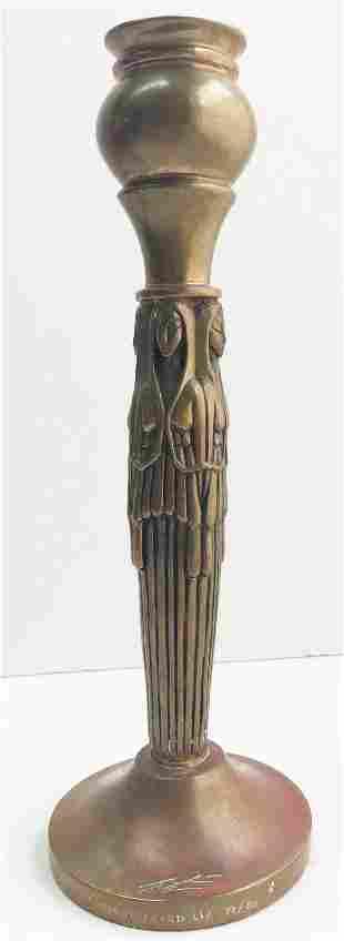Erte - Maidens Candlestick