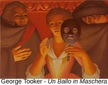 George Tooker - Un Ballo in Maschera