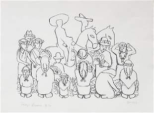 Diego Rivera - Mercado de Flores