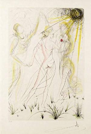 Salvador Dali - Le Printemps