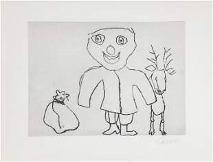 Alexander Calder - Santa Claus X