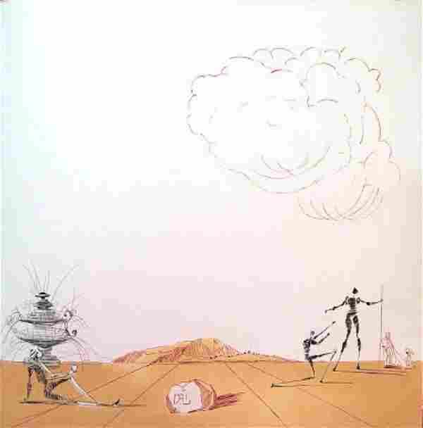 Salvador Dali - Fantasmes