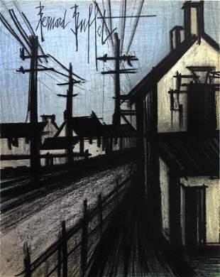 Bernard Buffet - The Village Road