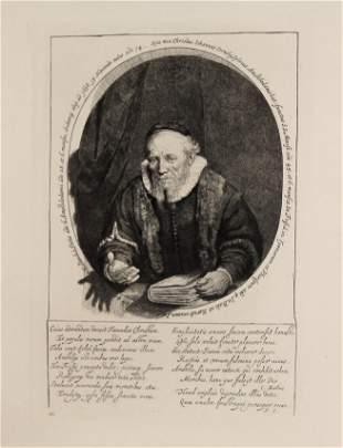 Rembrandt van Rijn - Jan Cornelius Sylvius Preacher