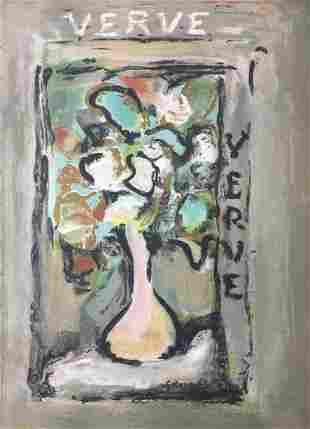 George Roualt - Verve Cover
