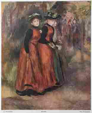 Pierre-Auguste Renoir (after) - La Promenade