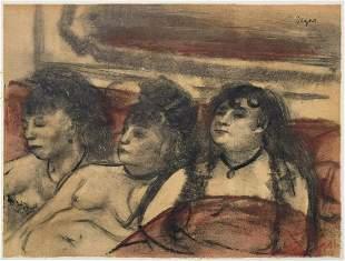 Edgar Degas (After) - Trois Femmes de Face