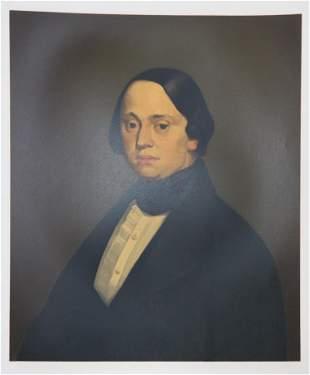 Jean-Francois Millet - Portrait Presume de M. Dore de