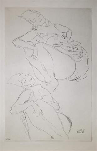 Gustav Klimt (After) - Untitled 2