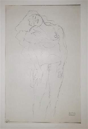 Gustav Klimt (After) - Untitled 6