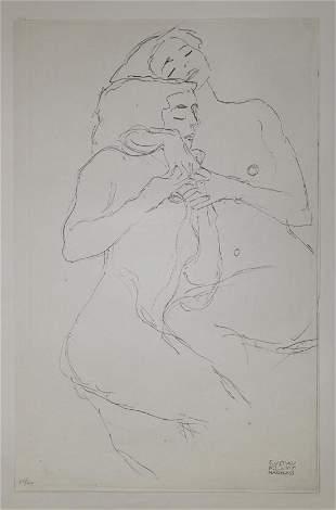 Gustav Klimt (After) - Untitled 10