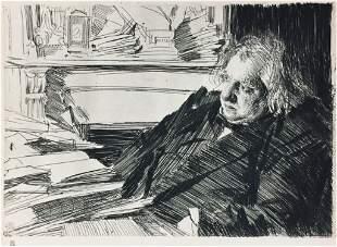 Anders Zorn - Ernest Renan