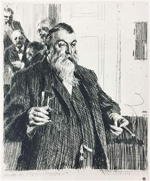 Anders Zorn - The Toast
